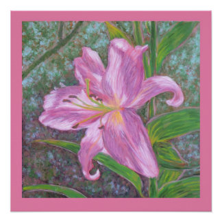Asiatic lily print