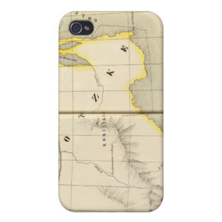 Asiatic Russia, Asia 19 iPhone 4 Cover