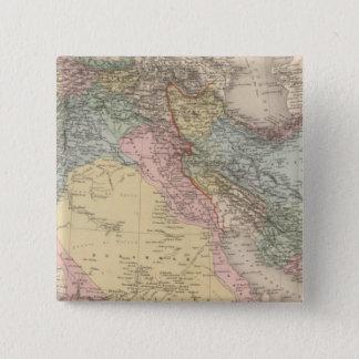 Asiatic Turkey and Persia 15 Cm Square Badge