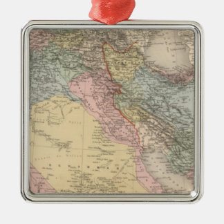 Asiatic Turkey and Persia Christmas Ornament