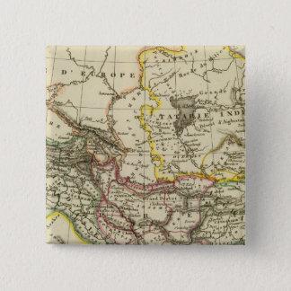 Asiatic Turkey, Persia, Afghanistan 15 Cm Square Badge