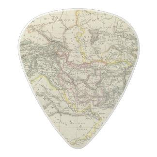 Asiatic Turkey, Persia, Afghanistan Acetal Guitar Pick