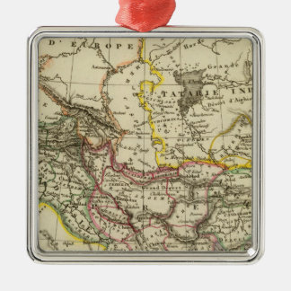 Asiatic Turkey, Persia, Afghanistan Christmas Ornament