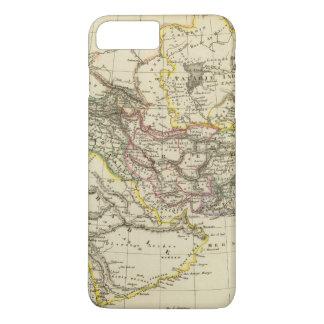 Asiatic Turkey, Persia, Afghanistan iPhone 8 Plus/7 Plus Case