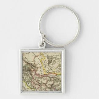 Asiatic Turkey, Persia, Afghanistan Key Ring