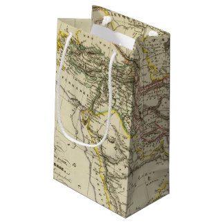 Asiatic Turkey, Persia, Afghanistan Small Gift Bag