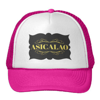 ASICALAO Custom Trucker Hat