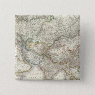 Asien - Asia 15 Cm Square Badge