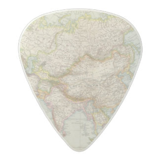 Asien - Map of Asia Acetal Guitar Pick
