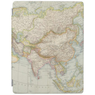 Asien - Map of Asia iPad Cover