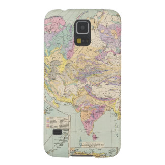 Asien u Europa - Atlas Map of Asia and Europe Galaxy S5 Cover