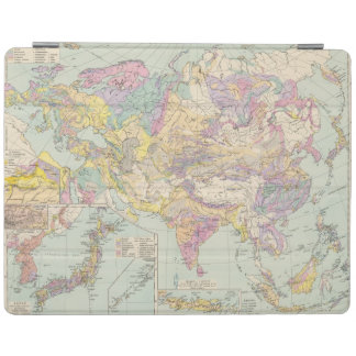 Asien u Europa - Atlas Map of Asia and Europe iPad Cover