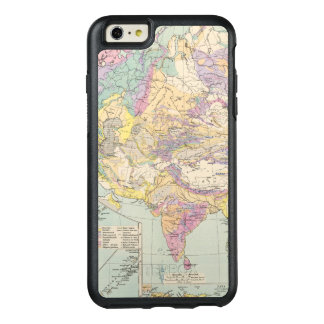 Asien u Europa - Atlas Map of Asia and Europe OtterBox iPhone 6/6s Plus Case