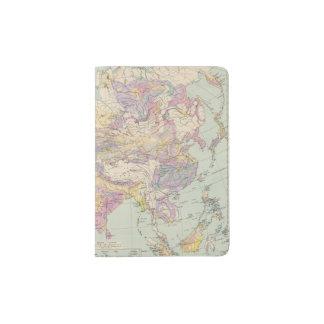 Asien u Europa - Atlas Map of Asia and Europe Passport Holder