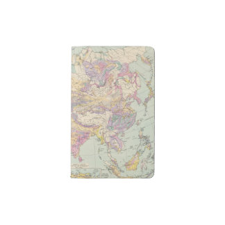 Asien u Europa - Atlas Map of Asia and Europe Pocket Moleskine Notebook