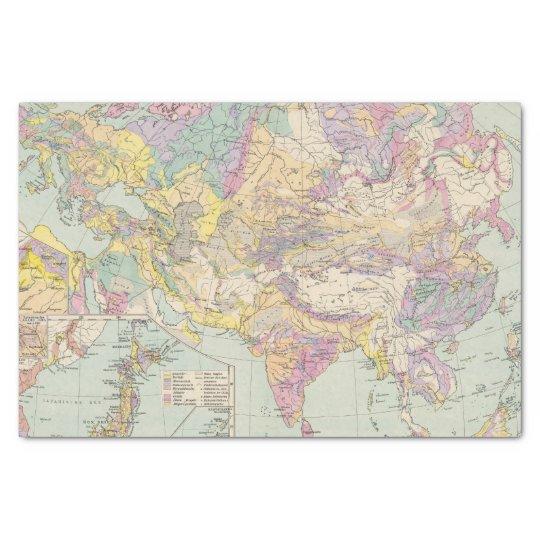 Asien u Europa - Atlas Map of Asia