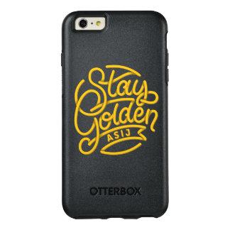 ASIJ Stay Golden iPhone Case