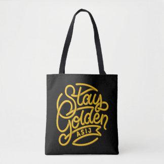 ASIJ Stay Golden Tote