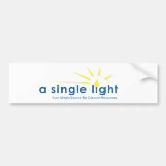 ASingleLight Bumper Sticker