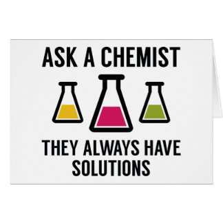 Ask A Chemist Card