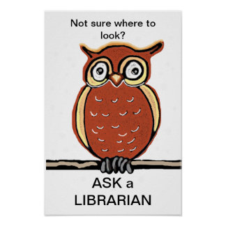 Ask a Librarian Poster
