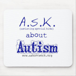 ASK about Autism Mouse Pad