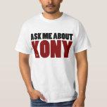 Ask About Kony 2012 Stop Joseph Kony Question T-Shirt