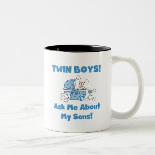 Ask About My Twin Sons Tshirts and Gifts