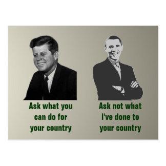 Ask-Ask Not Postcard