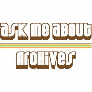 Ask Me About Archives Photo Sculpture Decoration