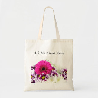 Ask Me About Avon Tote Bag - Bouquet