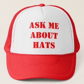 Ask Me About Hats