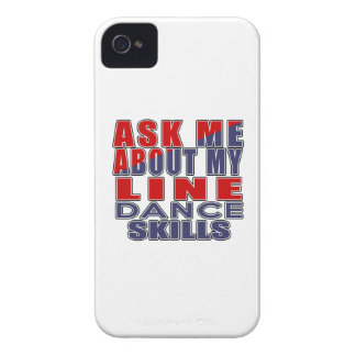 ASK ME ABOUT LINE DANCING DANCE iPhone 4 COVER
