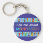 Ask me about MONTESSORI Key Ring