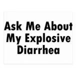 Ask Me About My Explosive Diarrhoea