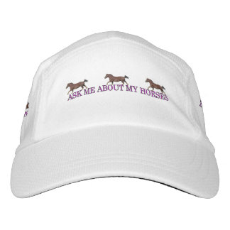 Ask Me About My Horses Hat
