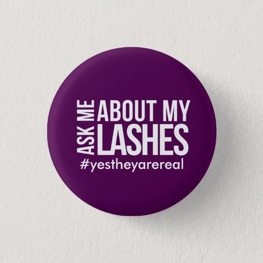 Ask me about my lashes 3 cm round