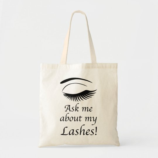 Ask me about my Lashes - Totes bag