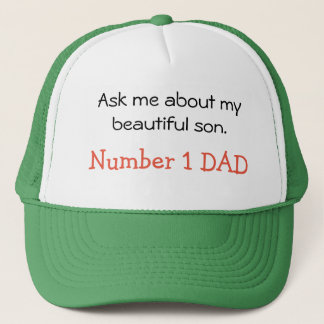 Ask me about my son hat