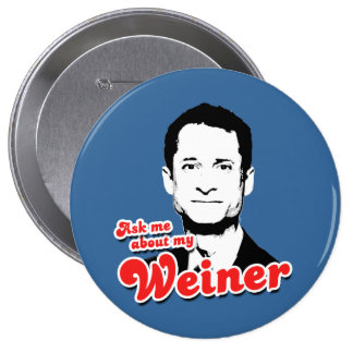 Ask me about my Weiner 10 Cm Round Badge