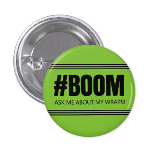 Ask me about my wraps - It Works! Global 3 Cm Round Badge