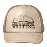 Ask Me About My Writing (Hat)