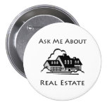 Ask Me About Real Estate Pin