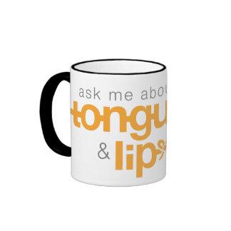 Ask Me About Tongue-Tie & Lip-Tie Mug (ORANGE)