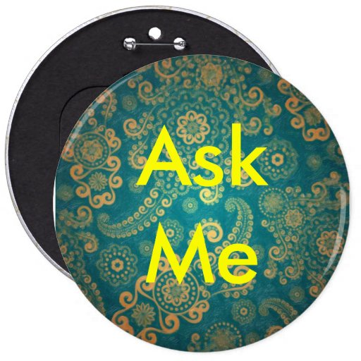Ask Me Button for Meetings, Business, School etc