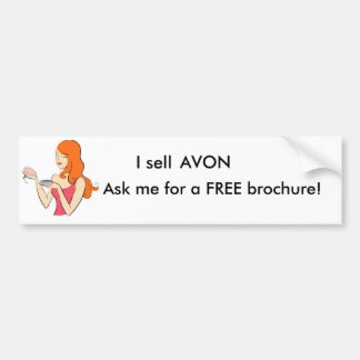 Ask me for a FREE brochure! Bumper Sticker