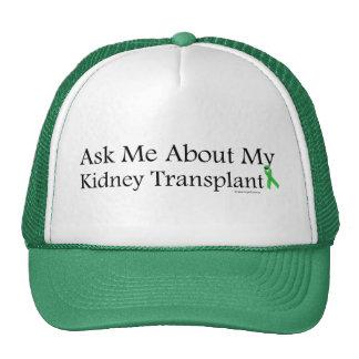 Ask Me Kidney Trucker Hats