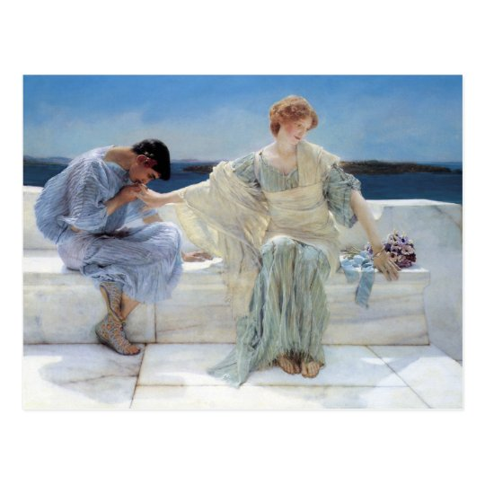 Ask Me No More, Alma Tadema, Save the