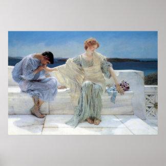 Ask Me No More by Sir Lawrence Alma Tadema Print