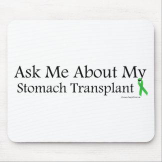 Ask Me Stomach Mousepad